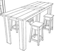 high top table plans