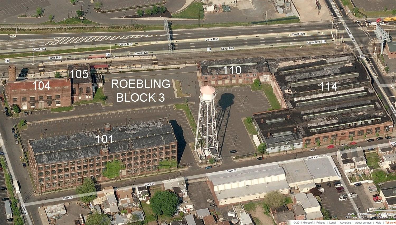 Roebling Site Plan