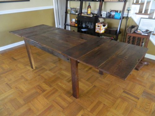 Farm Table with Extensions Havertown PA