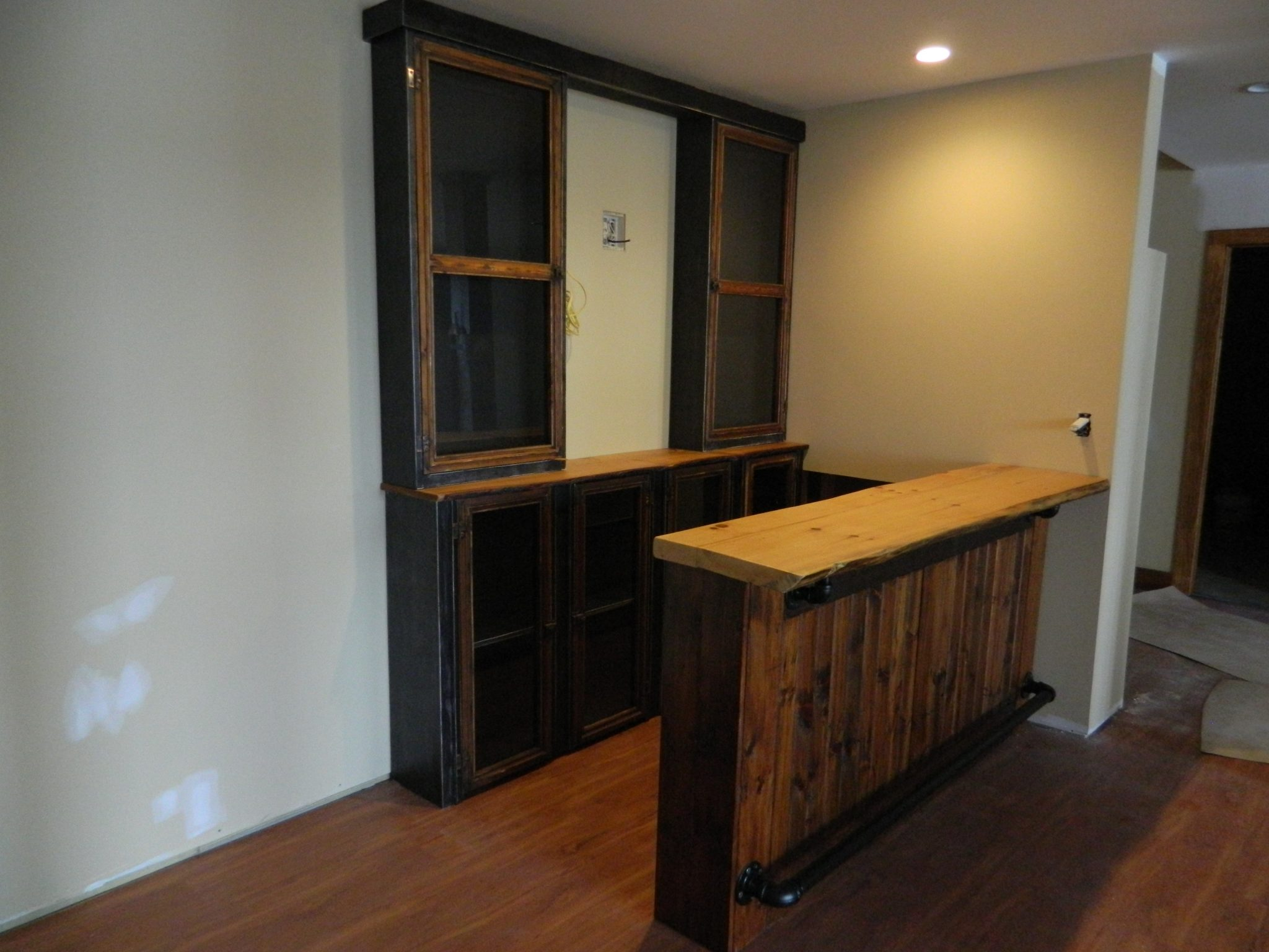 Rustic Reclaimed Wood Cabinets